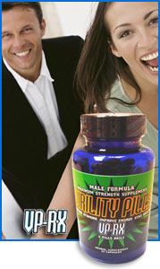 Virility Pills VPRX penis enlargement pills can help with erectile dysfunction and male impotence and erection problems. All natural herbs.